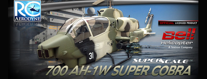 700 Size AH-1W SuperScale Cobra - RC Groups