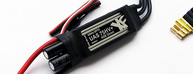 KDE DIRECT XF UAS 75HV+ ESC