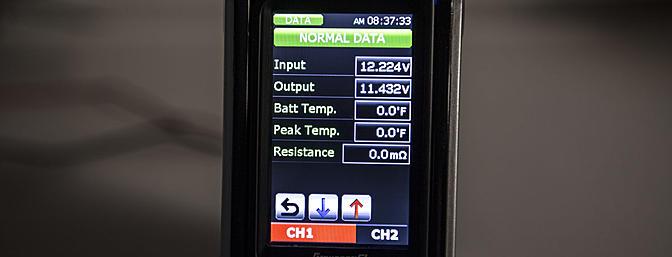 Data app screen 1