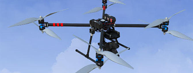 X8 Octocopter 1260