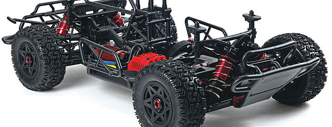 The all new Senton 6S BLX has tunable suspension and adjustable weight distribution
