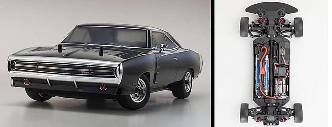 News Kyosho Fazer 1970 Dodge Charger - RC Groups