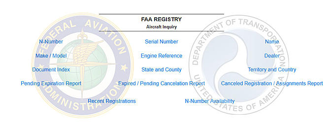 FAA and DOT: Your Private Registration Information Will Be Available to the Publ