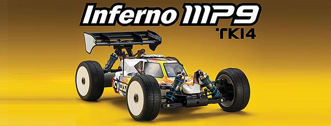 Kyosho 1/8th Inferno MP9 TKI4 Nitro 4WD Kit