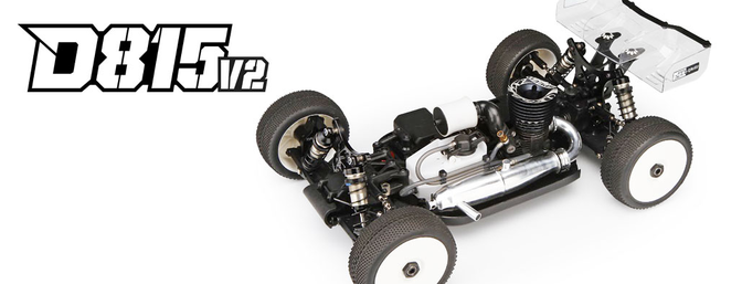 HB Racing D815 V2 Nitro 4WD Kit