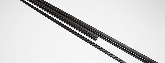 Carbon fiber and fiberglass spars