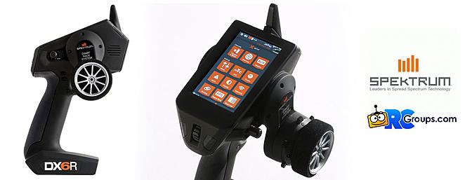 Spektrum DX6R 6-Channel Surface Radio System