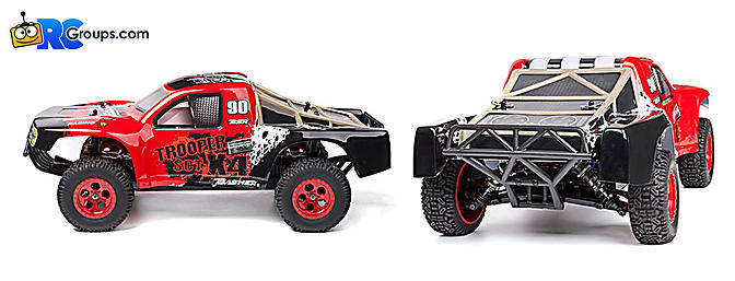 Hobbyking Trooper Pro-Edition Brushless SCT