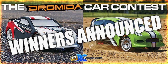 Winners Announced! The Dromida Car Contest