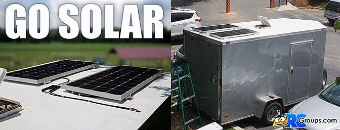 Go Solar: Adding 200w of DC Power to Your Trailer