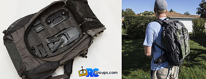 DIY Mavic Backpack - RCGroups Article