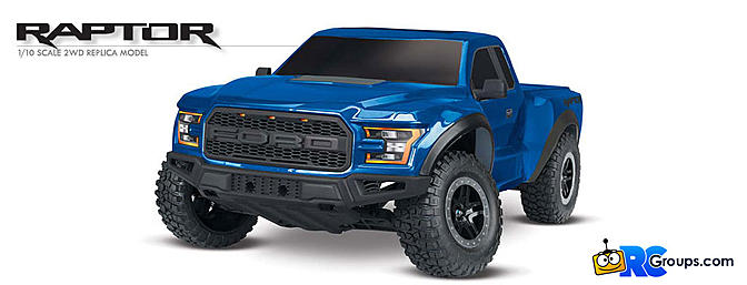 Traxxas Ford Raptor RTR