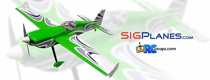 New Aircraft From SIG - EDGEtra EP ARF
