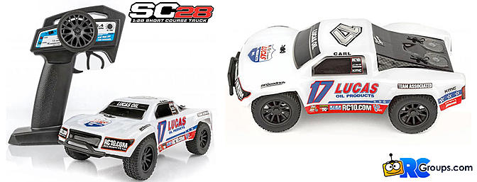 Team Associated SC28 - Micro Short Course Truck