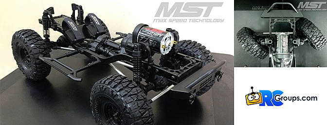 Coming Soon! MST - CFX-W 1/8 Crawler