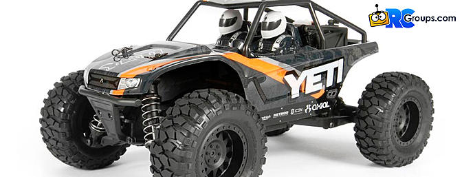 Axial Racing Yeti Jr. 1/18