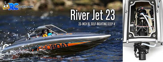 New Product! Proboat River Jet Boat