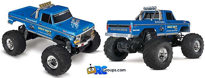 Traxxas Bigfoot RTR - Classic Edition