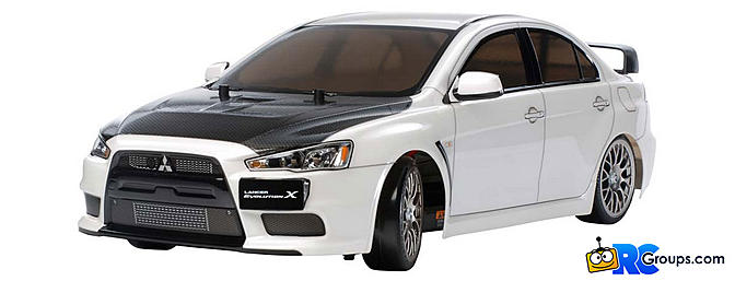 Tamiya Mitsubishi Lancer Evo X Drift Spec Rc Groups