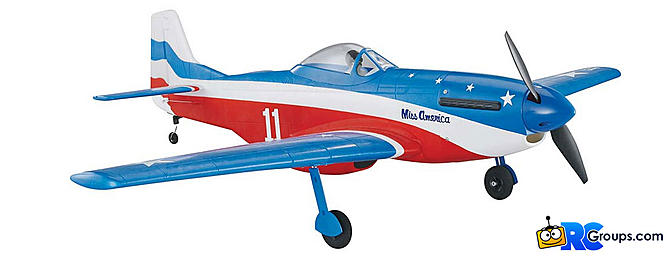 Tower Hobbies P-51D Mustang MkII Miss America