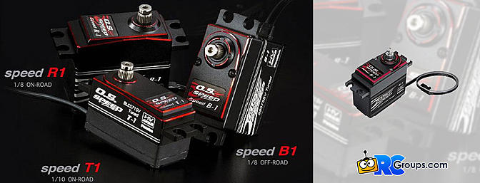 Futaba O.S. Speed Tuned Surface Servos - Coming Soon!