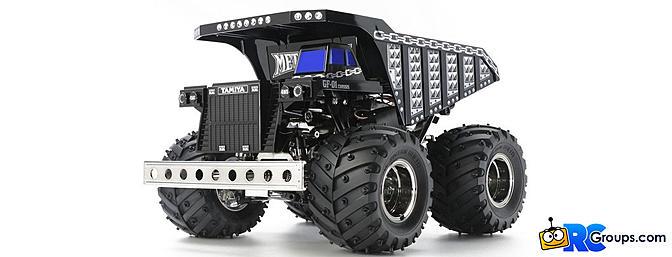 Tamiya Metal Dump Truck - GF-01
