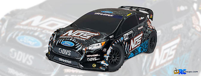 Traxxas Deegan 38 Ford Fiesta ST Rally