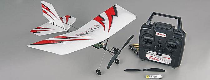 The INUM Elite from Flyzone is a 3-channel indoor airplane that's slow and predictable.