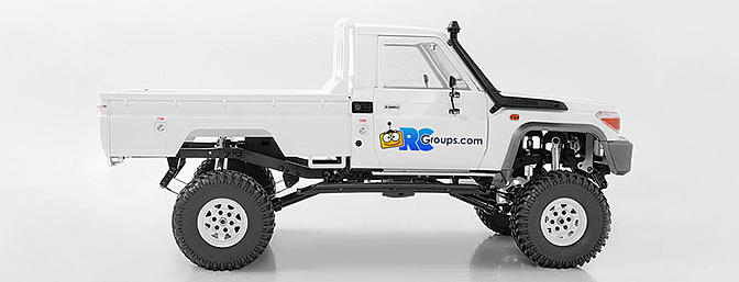 RC4WD Trail Finder 2 LWB with Land Cruiser LC70 Body