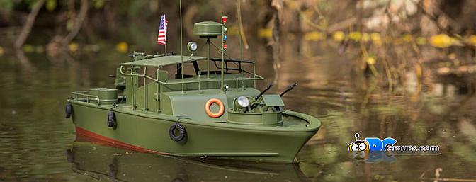 Pro Boat Alpha Patrol Boat