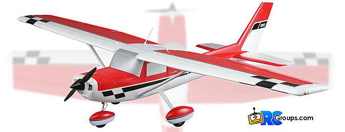 News E-flite Carbon-Z Cessna 150 2 1m - RC Groups