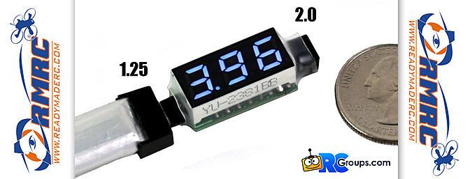 ReadyMadeRC 1s Voltage Checker