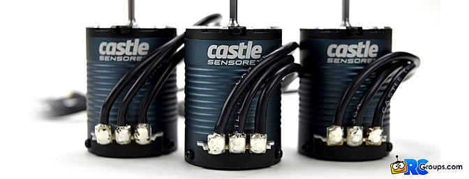 Castle Creations 14 Series - Sensored Crawler Motors