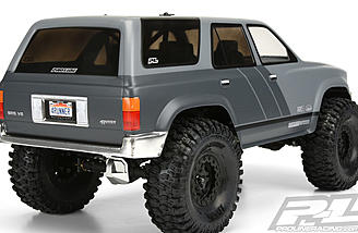 A decal kit is included with the Pro-Line 1991 Toyota 4Runner Body