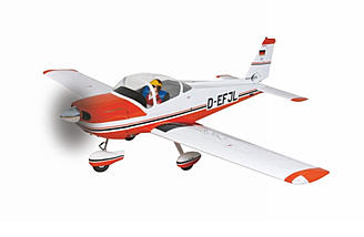 "The Graupner BO 209 Monsun has an 87"" wingspan and is perfect for aerotowing."
