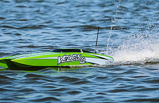The hull has been redesigned to handle better and turn quicker, says Pro Boat.
