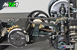 The MTC1 features a low friction 4wd pulley system.