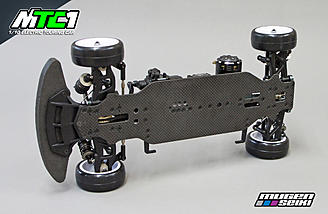 The 1/10th scale Mugen MTC1 features a Zero Tweak Flex chassis system.