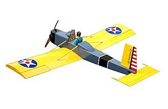 "The Volksplane from Hobbyking has a 62.9"" wingspan."
