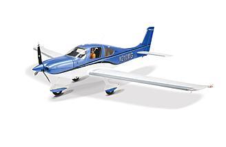 "The E-flite Cirrus SR22T 1.5m BNF has a 60"" wingspan"