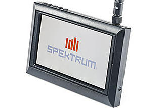 A DVR monitor with 5.8GHz receiver is available in the Blade Inductrix FPV + RTF with DVR package. A version without the monitor is also available.