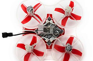 The Blade Inductrix FPV + RTF with DVR takes a larger 1s 500mAh LiPo