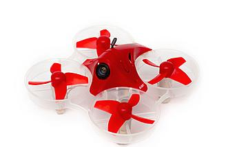 The Blade Inductrix FPV + RTF with DVR has larger props and motors.