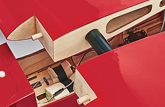 Transportation to and from the field is made easier with the two-piece wing that connects with a joiner tube.