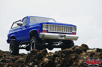 The RC4WD Trail Finder 2 With Chevrolet Blazer Body.