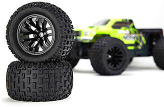 Durable dBoots FORTRESS MT tires are included.