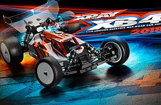 The Xray XB4 2018 - 4WD Off Road Buggy