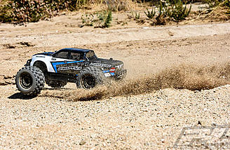 The Pro-Line PRO-MT 4x4 comes built and ready for your choice of electronics