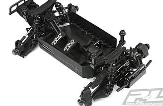The bi-metal chassis and sealed differentials can take the abuse of 1/8th scale power systems