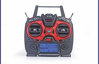 The Graupner mz-12 PRO 12 Channel 2.4GHz HoTT Transmitter is packed with features and comes in under $200.